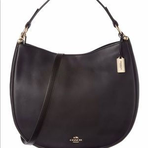 Coach Nomad Hobo In Glovetanned Leather Bag